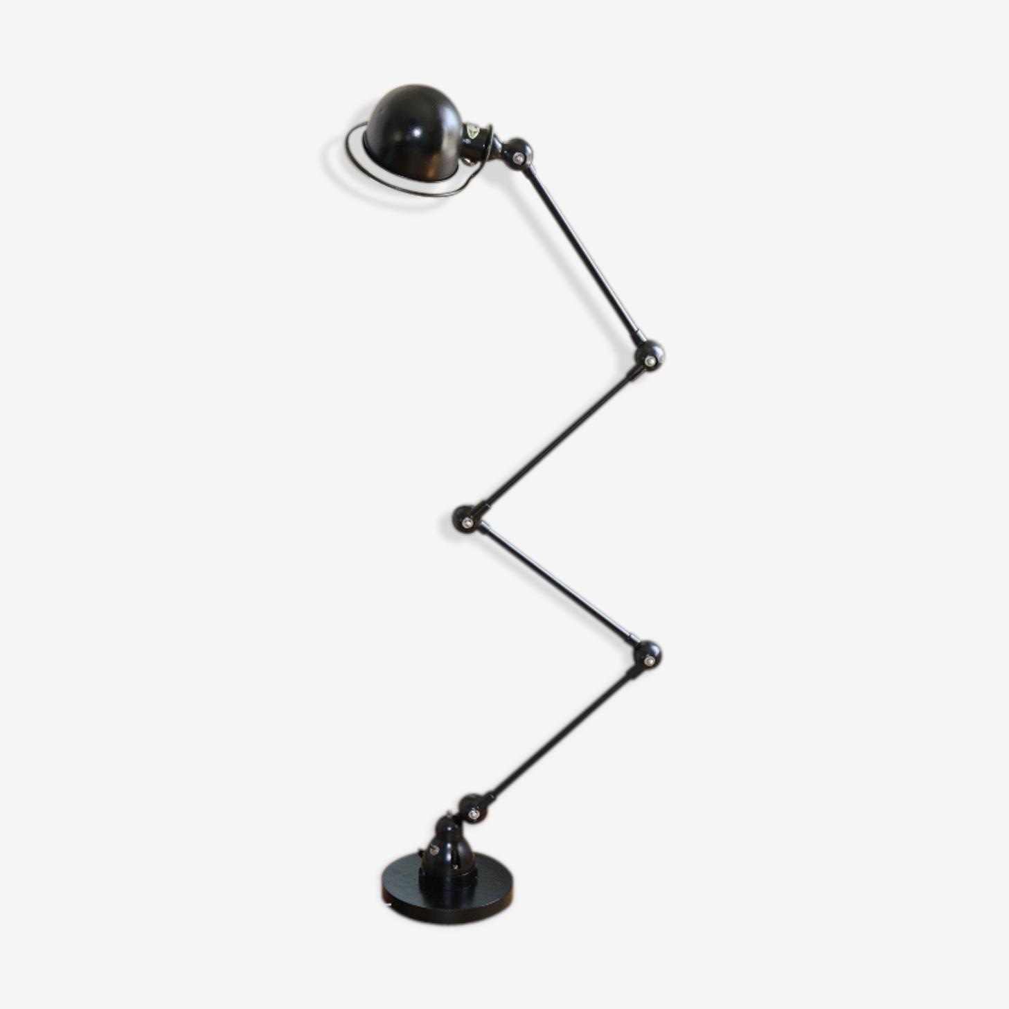 Floor Lamp Jielde 4 Arms Black 1950 Metal Black Industrial