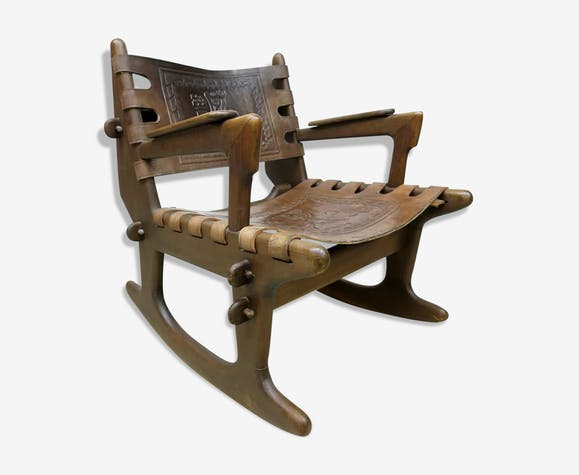 Design Ecuador vintage rocking chair Angel Pazmino