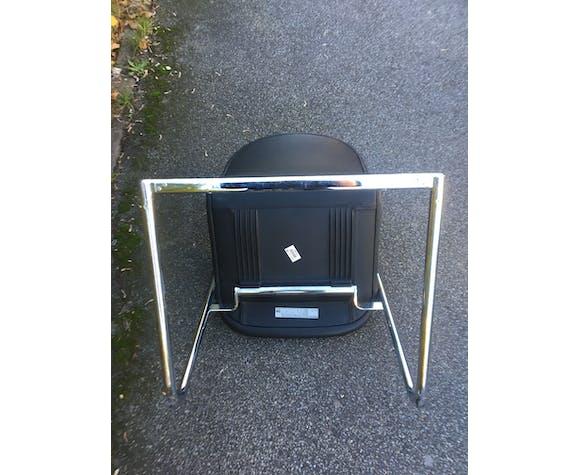 2 fauteuils en cuir Wilkhahn  modèle 212/5