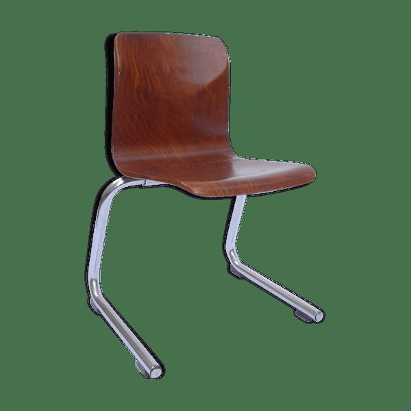 Chaise Enfant Design Thur Op Seat Par Galvanitas Et Pagholz Annees 60