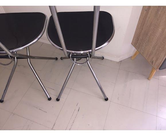 Paire de chaises pliantes par Niels Grammelaard