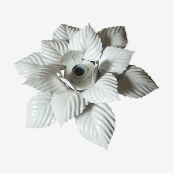 Applique murale ou plafonnier fleur métal