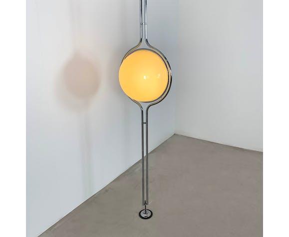 Lampadaire à deux globes par Jean-Pierre Garrault & Henri Delord pour Chabrières, 1970