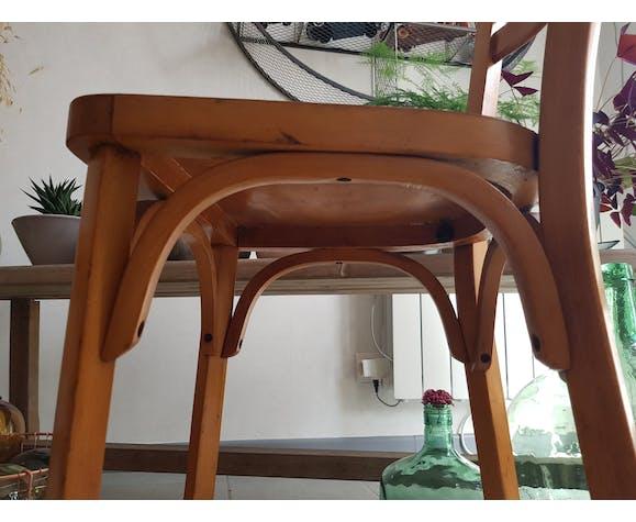 Paire de chaises Baumann anciennes
