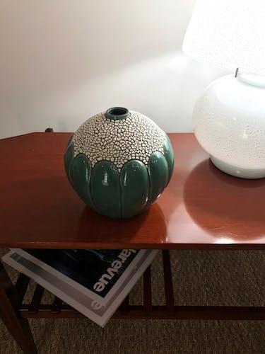 Vase soliflore Saint Clément des années 30