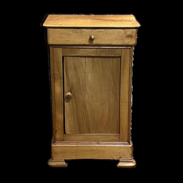 Table de nuit Louis Philippe en merisier, XIXème