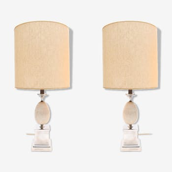 Set of 2 lights in the House Barber 1970 s