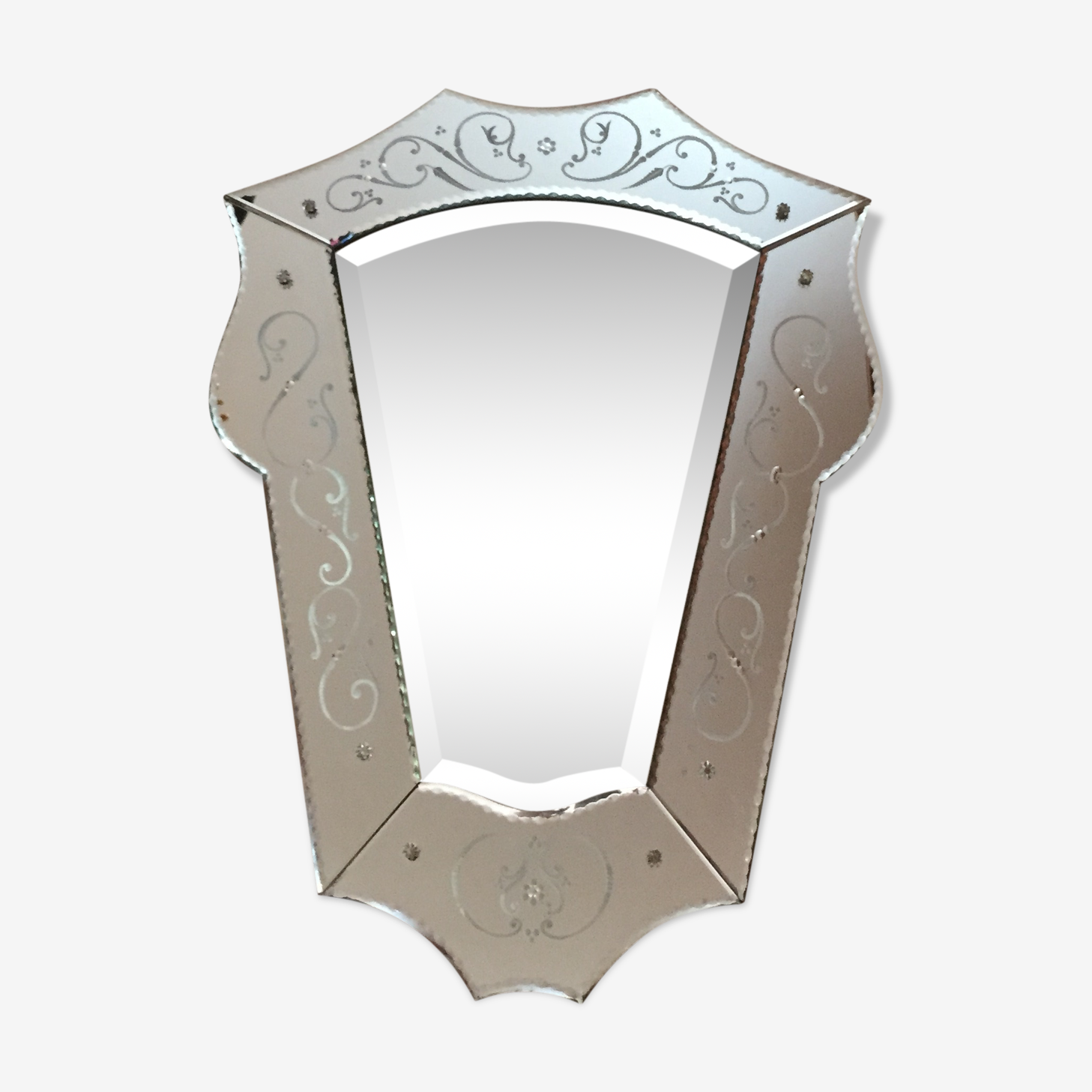 Miroir vénitien 77x56cm