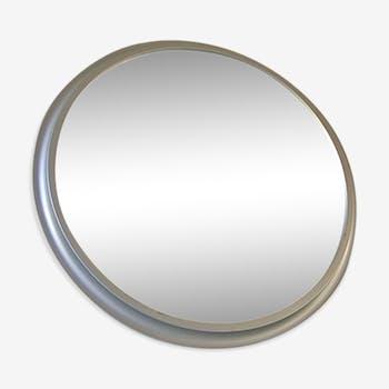 Miroir Pierre Vandel en aluminium argenté ou doré