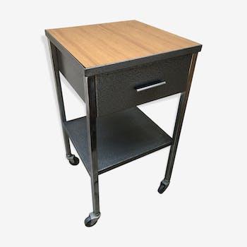 table de chevet style industriel 3 2 1 chinez. Black Bedroom Furniture Sets. Home Design Ideas