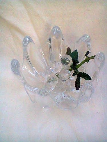 Vide-poches en cristal