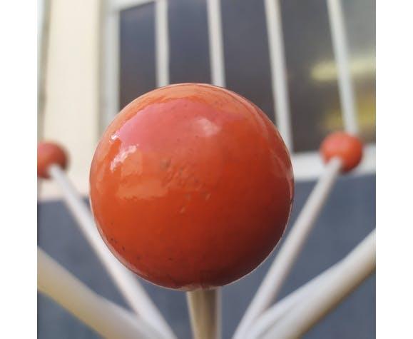 Perroquet vintage orange