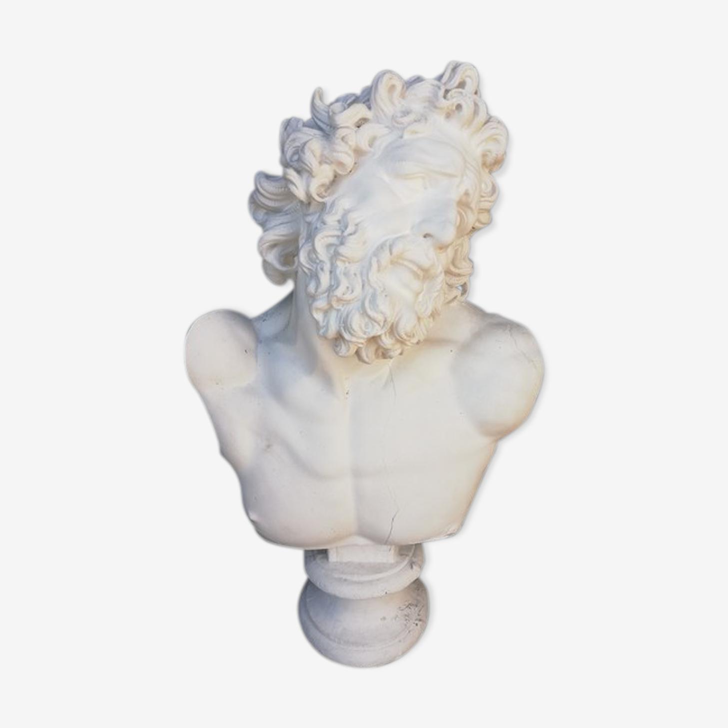 Posseidon plaster bust