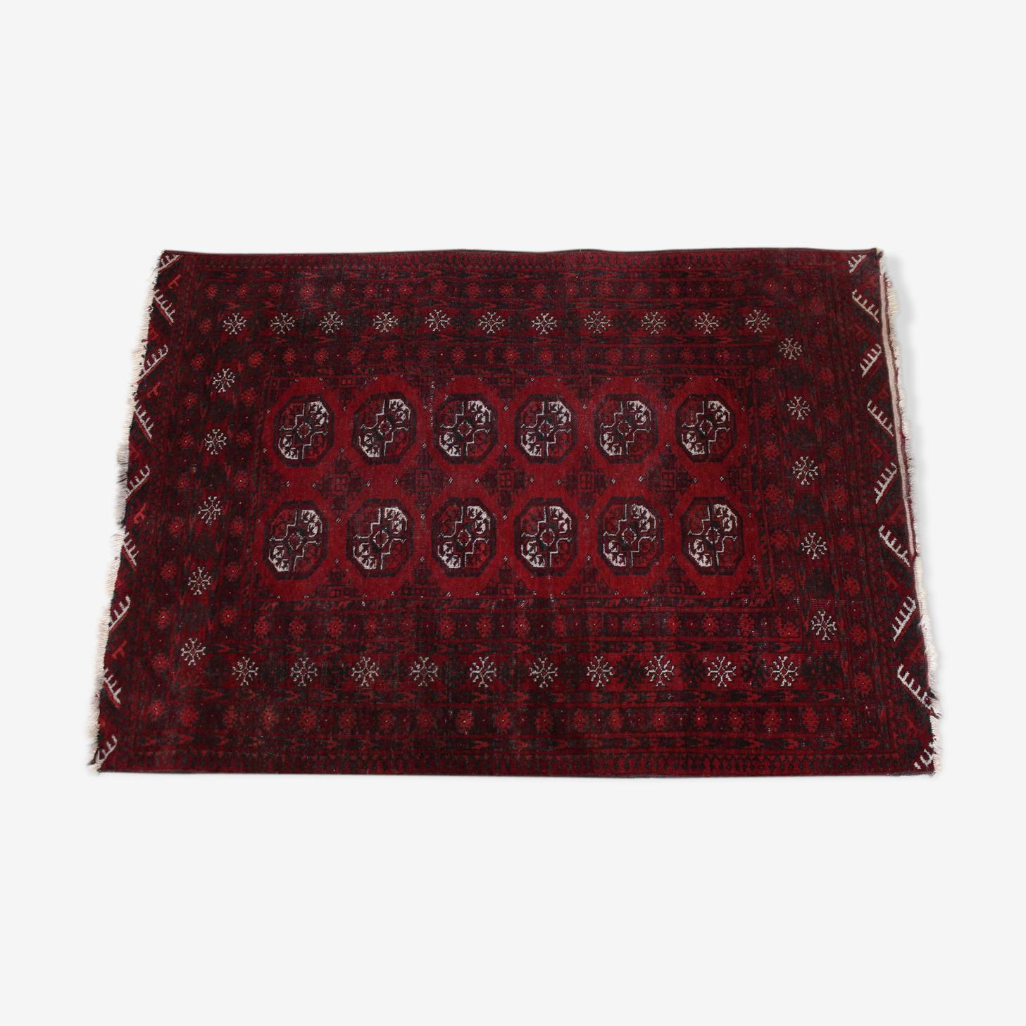Turkish Turkish Persian rug bokhara 184 x 130 cm wool Bukhara