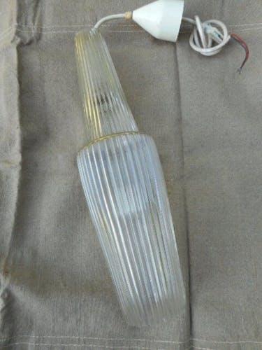 Suspension verre 1960'