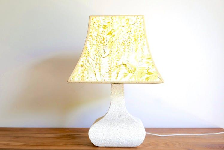 Lampe en pierre années 70