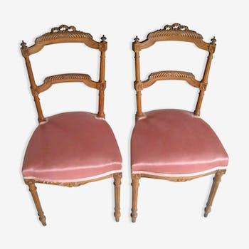Batch louisXVI style chairs