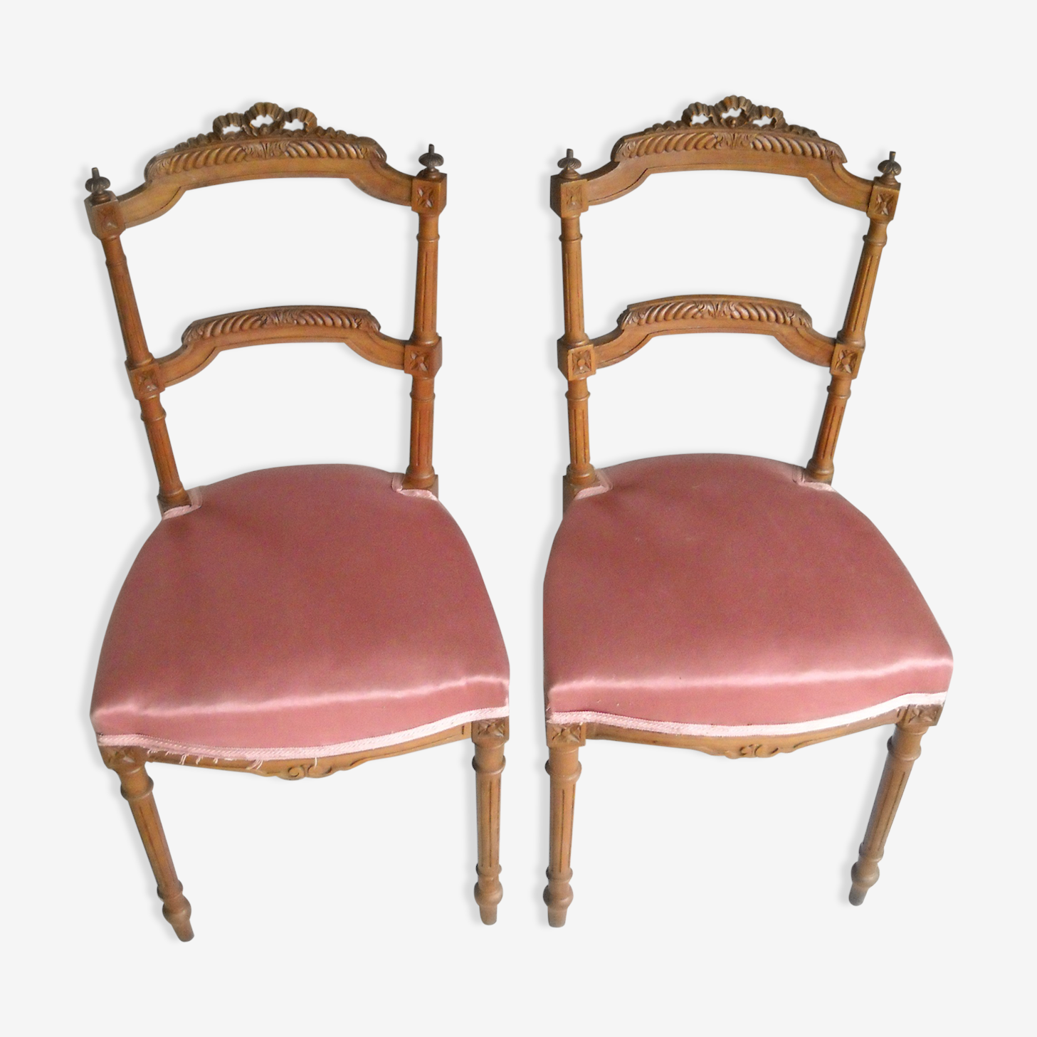 Lot chaises style louisXVI