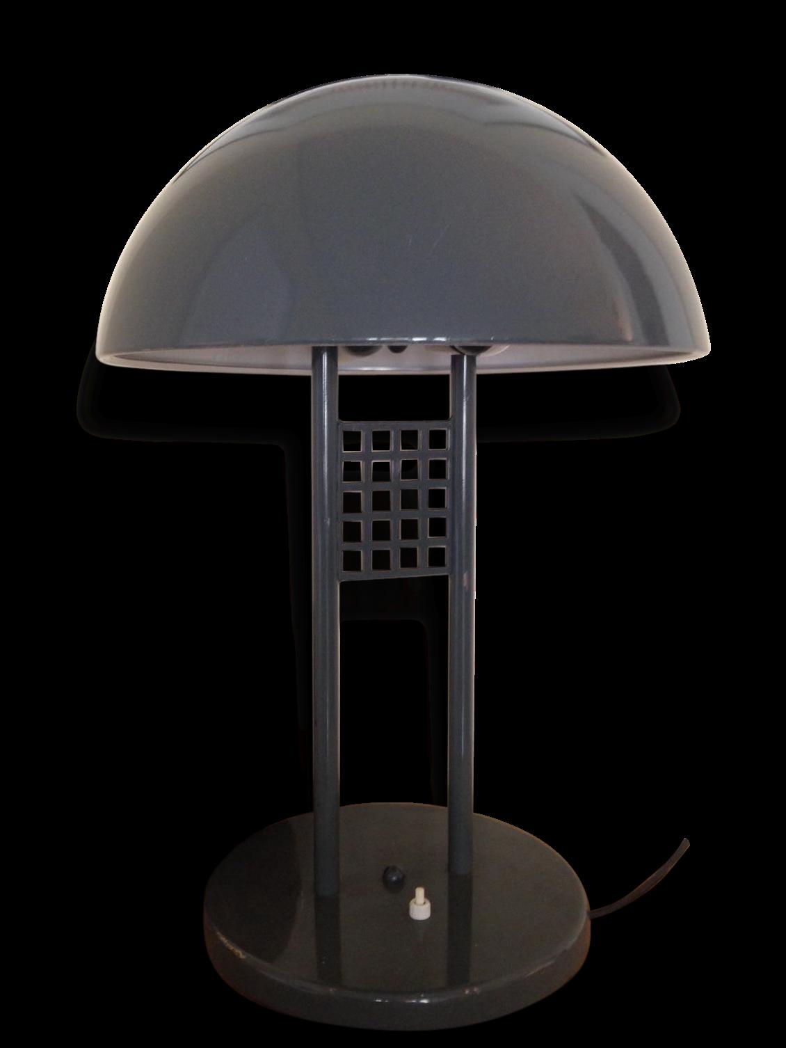 Grande Lampe Champignon Vintage