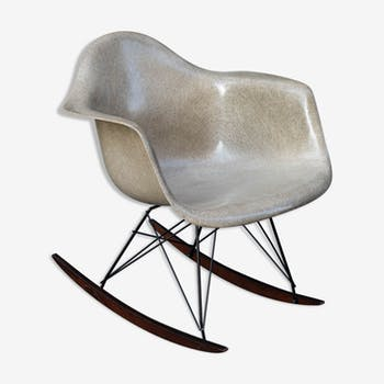 Rocking chair par Charles et Ray Eames, Zenith 1st generation Herman Miller