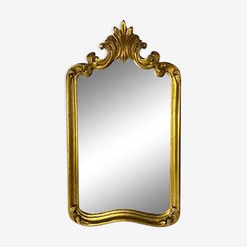 Classic golden mirror 45 x 25 cm