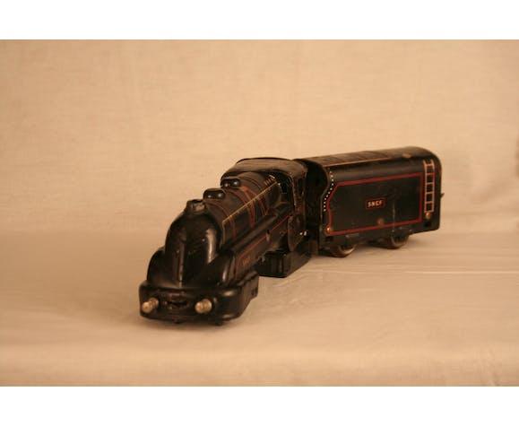 Locomotive et tandem Jep