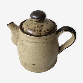 Vintage stoneware teapot