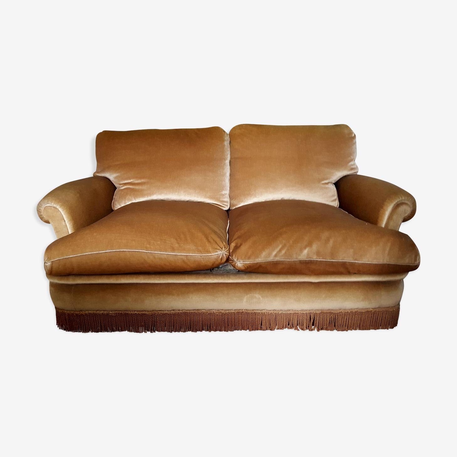 Canapé en mohair vintage