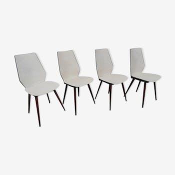 Lot de 4 chaises Baumann
