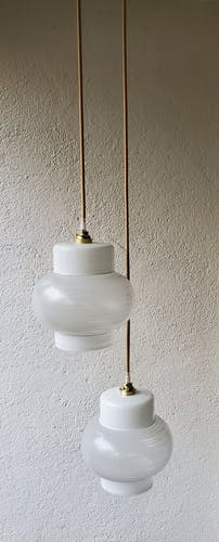 60's double globe suspension