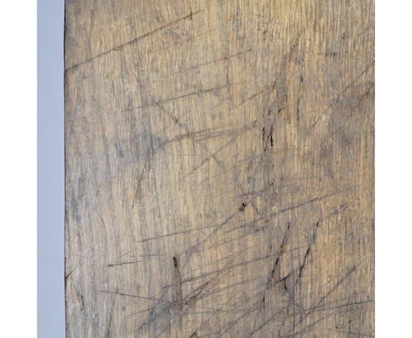 Établi en bois, années 1950