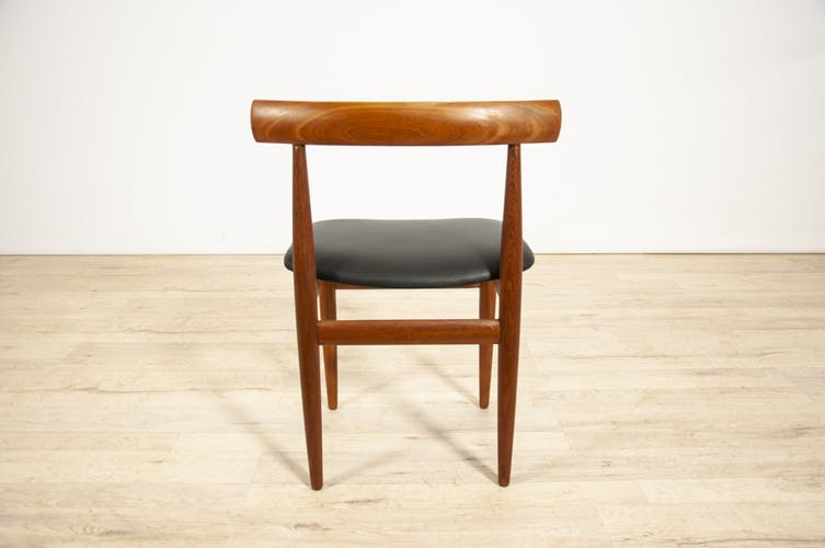 Dining Table & 4 Chairs by Hans Olsen for Frem Røjle, 1960s