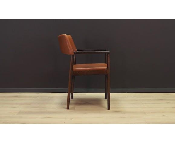 Suite de 4 fauteuils Erik Wørts 60/70