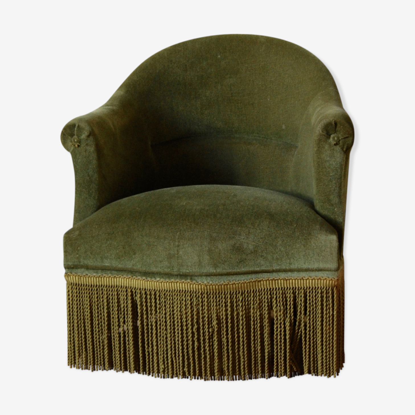 Chair Green Toad