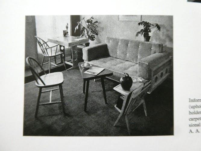 Fauteuil de Abraham A Patijn en bois, années 50
