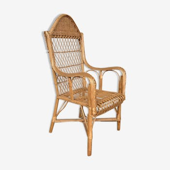 Fifties Chair rattan