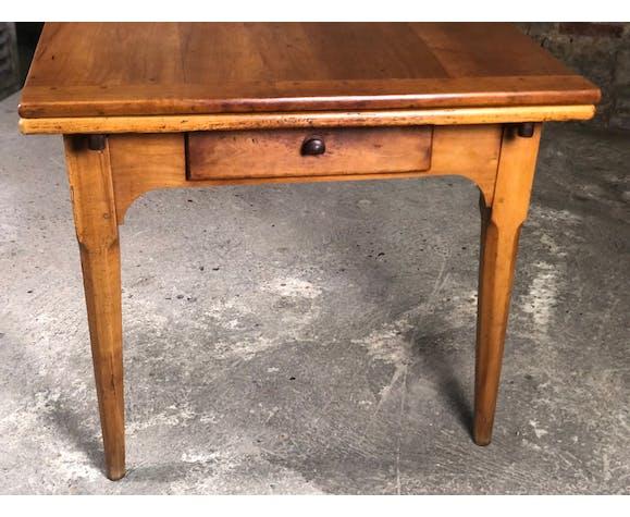 Farm table in cherry period Louis Philippe XIX eme
