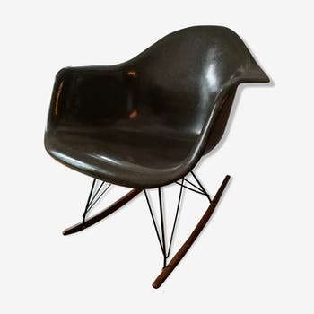 Ray and Charles  Eames vintage fiberglass armchair
