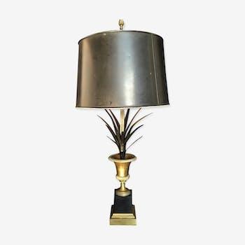 Lampe en métal et bronze années 60
