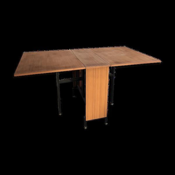 Table en teck vintage modulable