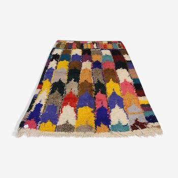 Tapis boucherouite 166x230cm