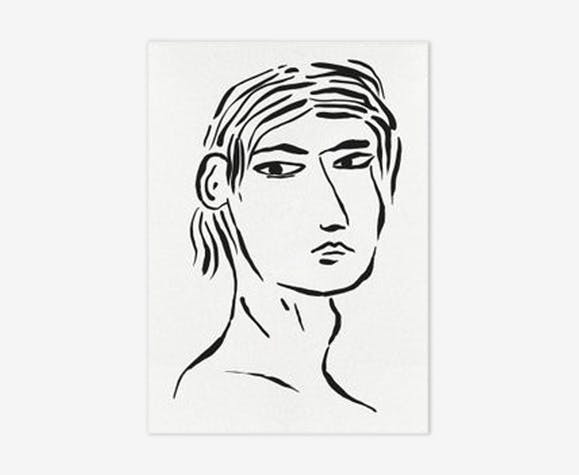 Nathanael-30 x 42 cm