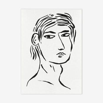 Nathanaël - 30 x 42 cm