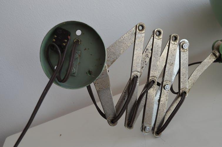 Applique accordéon d'atelier ancienne