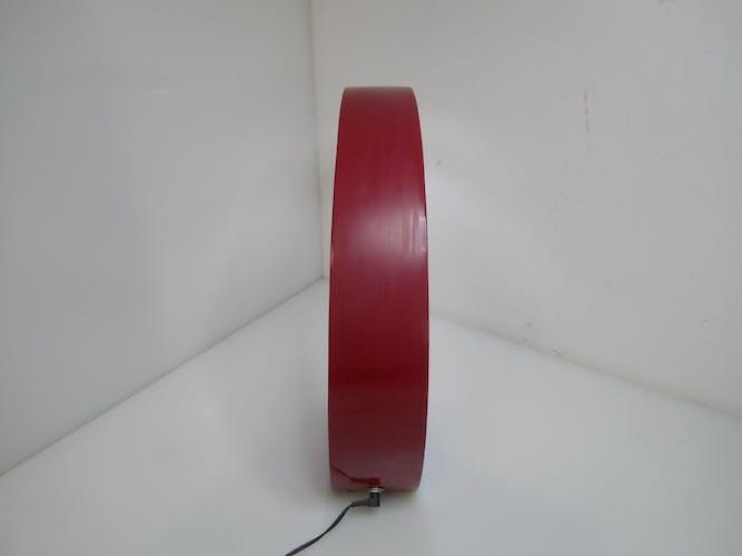 Lampe design rouge