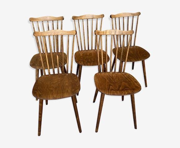 Set de 5 chaises Baumann menuet