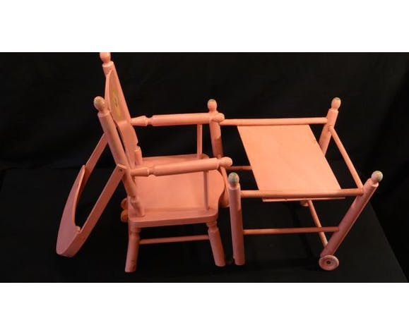 Chaise de poupée XIXe