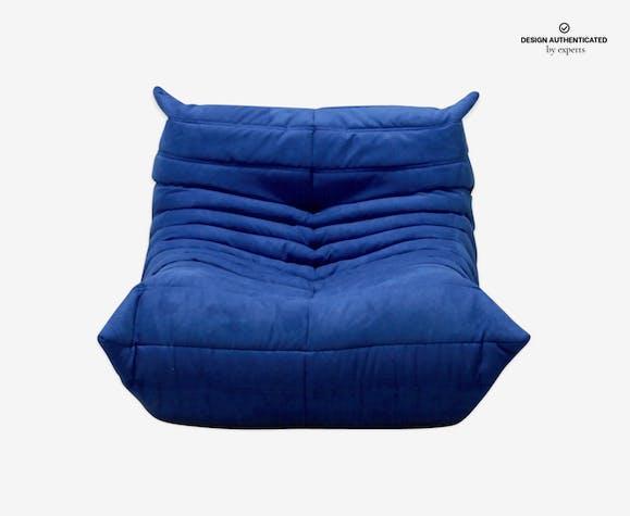 """Togo"" Chair Microfiber by Michel Ducaroy for Ligne Roset, 1975"