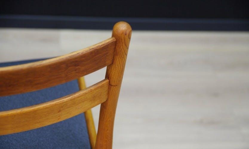 Lot de 6 chaises par de Poul M. Volther 60/70