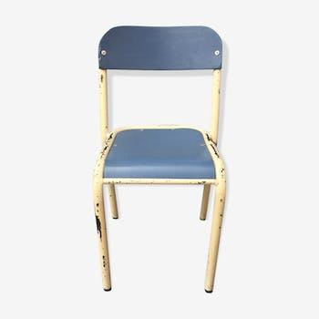Chaise bureau enfant vintage
